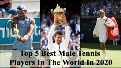 Top 5 Best Male Tennis Players In The World In 2020
